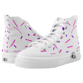 Gram Stain Printed Shoes