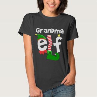 Grandma Elf Tee Shirts