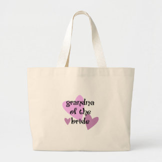 Grandma of the Bride Jumbo Tote Bag