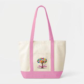 Grandma Tree of Hearts Shoulder Tote Impulse Tote Bag