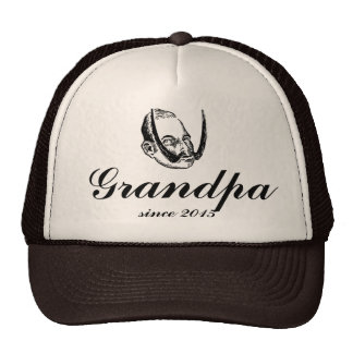 Grandpa Papa funny daddy gift awesome dad new Cap