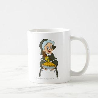 Granny and TWEETY™ Pie Basic White Mug