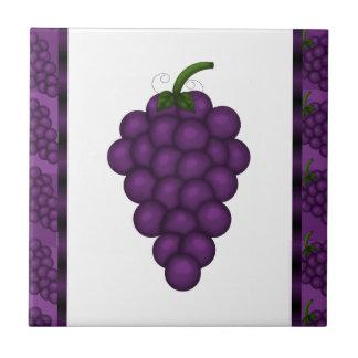 Grape kitchen tile