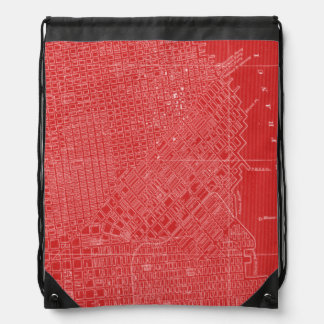 Graphic Map of San Francisco Backpack