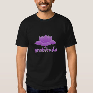 Gratitude with Violet Lotus Shirts