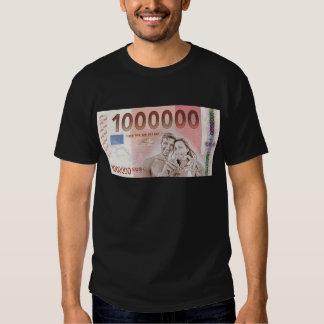 Gratuity to the wedding - 1-Mio-Euro Tee Shirts