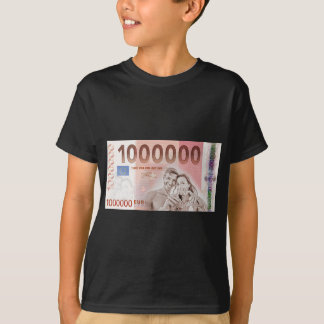 Gratuity to the wedding - 1-Mio-Euro Tshirt