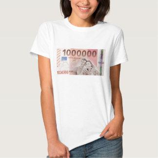 Gratuity to the wedding - a million-euros tee shirt