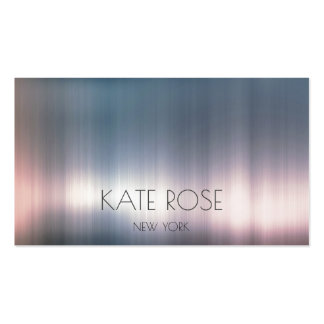 Gray Pink Powder Ombre Contemporary Pastel Pack Of Standard Business Cards