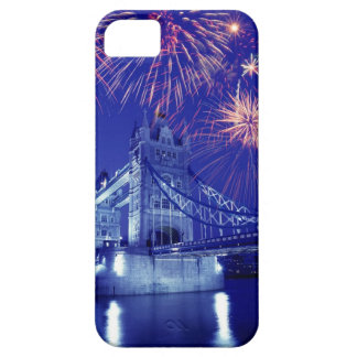Great Britain, London. Fireworks over the Tower iPhone 5 Cases