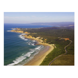 Great Ocean Road and Split Point Lighthouse, Postcard
