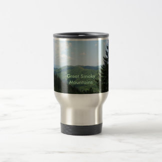 Great Smoky Mountains Stainless Steel Travel Mug