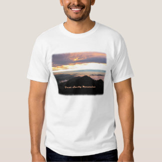 Great Smoky Mtns Sunset T-shirts