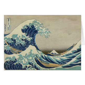 Great Wave off Kanagawa - Hokusai Greeting Card