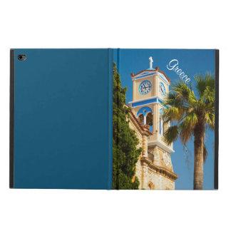 Greece - Orthodox Greek Church with Palm Tree