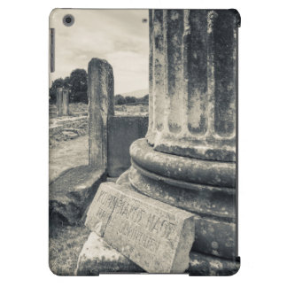 Greece, ruins of ancient city iPad air cases