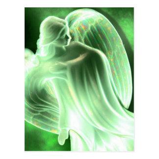 Green Angel Postcard