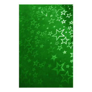 Green Christmas background design Customised Stationery
