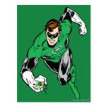 Green Lantern Fly Forward Postcard