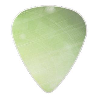 Green light design in hi-tech style acetal guitar pick