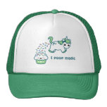 Green Pooping Unicorn Cap