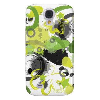 Green Splatter iPhone 3G Skin Samsung Galaxy S4 Cover