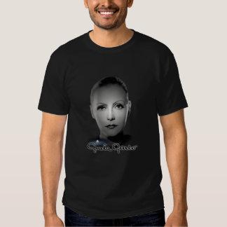 Greta Garbo Portrait & Signature T Shirt