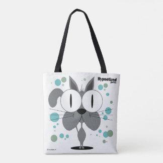 Grey Cat Custom All-Over-Print Tote Bag
