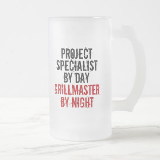 Grillmaster Project Specialist Frosted Glass Mug