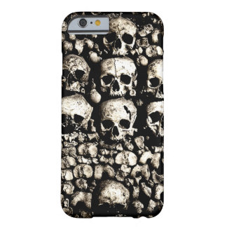 Gritty Skulls Barely There iPhone 6 Case