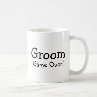 Groom Game Over Basic White Mug