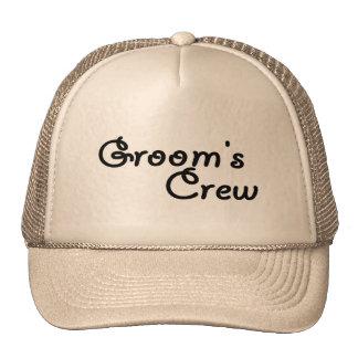 Groom's Crew (Blk) Cap