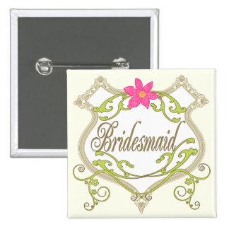 Groomsman Wedding Badges