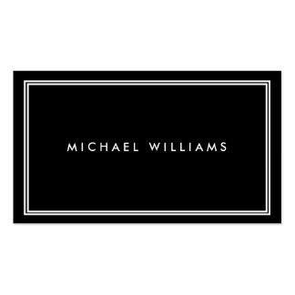 Groupon Elegant Classic Black Pack Of Standard Business Cards