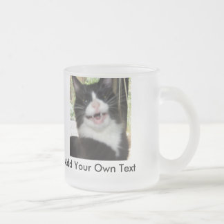 Grumpy Cat Frosted Glass Mug