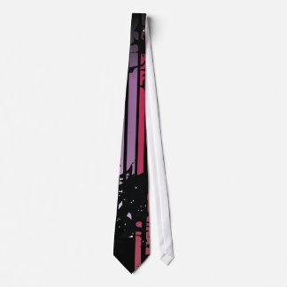 Grunge Abstract Neck Tie