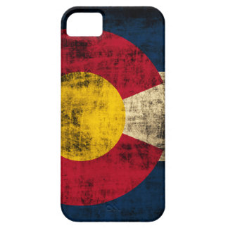 Grunge Colorado Flag iPhone 5 Case