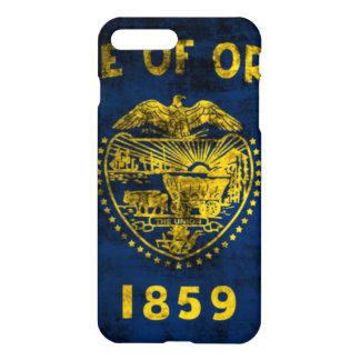 Grunge Oregon State Flag iPhone 7 Plus Case