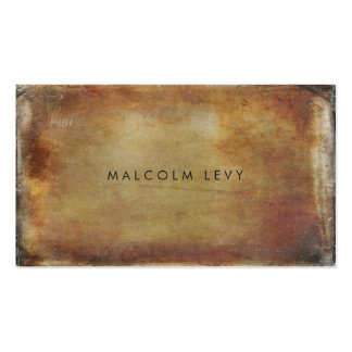 Grunge Rustic Mens Masculine Business Cards