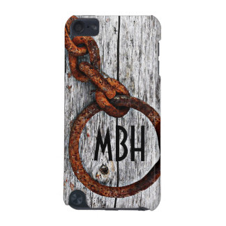 Grunge Rusty Metal Chain - Personalized! iPod Touch 5G Covers