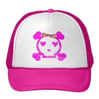 GRUNGE STYLE EMO GIRL SKULL CAP