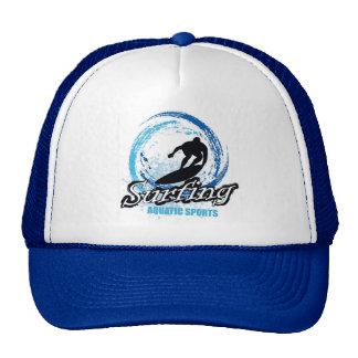 Grunge Surfing Cap