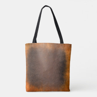 Grungy Golden Brown Abstract Paining Tote Bag