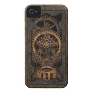 Grungy Industrial Steampunk Machine #2 iPhone 4 Case-Mate Case