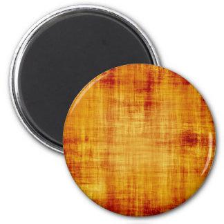 Grungy Parchment Paper Texture 6 Cm Round Magnet
