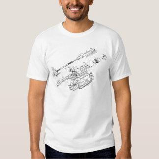 Gun Parts Tee Shirts
