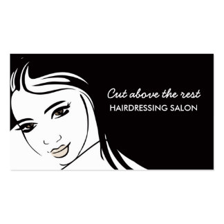 Hair Cuts Salon Pack Of Standard Business Cards