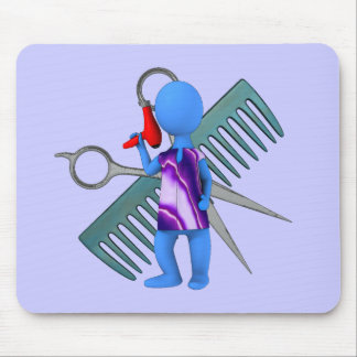 Hair Stylist Mouse Pad