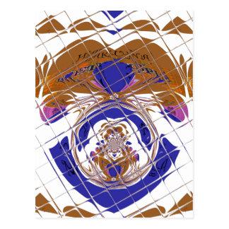 Hakuna Matata I love  Ethiopia Color design.png Postcard