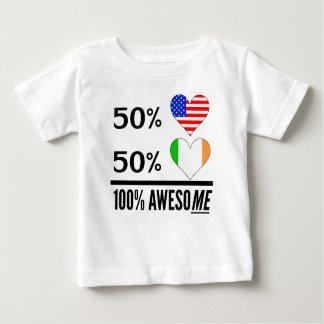 Half American Half Irish T Shirt